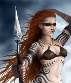 Boudicca the warrior princess sex scene