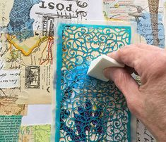 Every few weeks or so I get an itch to make a handmade book, and this time my efforts are being fueled by something special: our new Bookbinding Collection. Bookbinding Tools, Bookbinding Tutorial, Book Journal, Journal Ideas, Decorative Paper Napkins, Homemade Books, Create This Book, Cloth Paper Scissors, Making Books