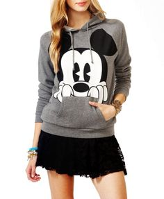 Mickey Mouse Hoodies For Women - Cute Hoodies For Women