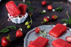 FOOD | Das schmeckt im Sommer - Erdbeereis am Stiel