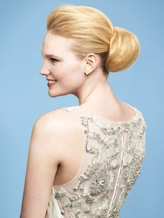 Classic Wedding Hairstyle: A Classic Wedding Updo. Stick with a classic chignon (think soft, not slick) for a modern vibe.