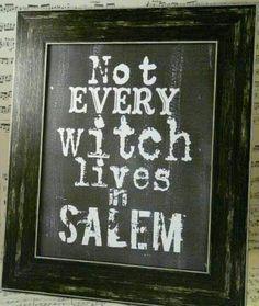 Salem: Can't wait for our trip to Salem!
