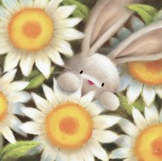 by Simon Elvin Easter Pictures, Cute Pictures, Spring Projects, Rabbit Art, Bunny Art, Cute Clipart, China Painting, All Things Cute, Cute Illustration