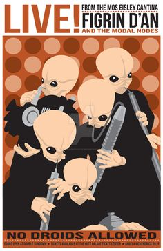 Star-Wars-Cantina-Band by CuddleswithCats.deviantart.com on @DeviantArt