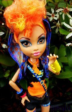 Hope Howleen didn't scare you! Monster High Party, Monster High Dolls, Howleen Wolf, Monster High Characters, Hedgehog Pet, Ever After High, Little Doll, Neon Colors, Lps