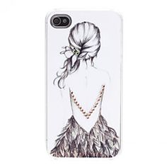 Back of Girl Pattern Hard Case with Rhinestone for iPod Touch 4 – EUR € Iphone 4s, Ipod Touch, Coque Ipod, Cheap Iphones, Fashion Illustration Sketches, Cell Phone Covers, Ipod Cases, Apple Products, Up Girl