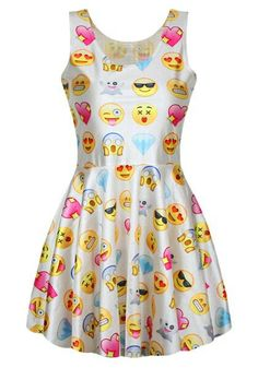 Emojis dress, perfect for your Emojis party theme!