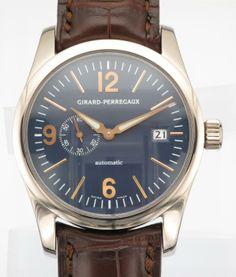 18CTW GIRARD PERREGAUX - Attenborough Pawnbrokers & Jewellers