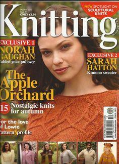 Knitting 81 octobre 2010 Orchard jacket Sian Brown