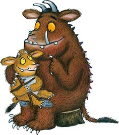 The Gruffalo illustrated by Axel Scheffler - World News Gruffalo Activities, Gruffalo Party, The Gruffalo, Gruffalo's Child, World Book Day Ideas, Axel Scheffler, Curious Creatures, Beautiful Book Covers, Character Drawing
