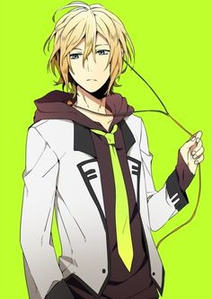 Reminds me of Tokki from Code:Breaker but not so sure could be fanart T//u//T'