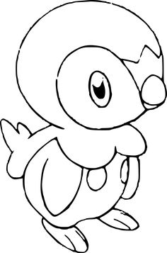 Pokemon Rowlet Coloring Page Pokemon Rowlet Anime