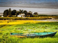 Conomo Skiff  Landscape Photography by ThirdwindPhotography