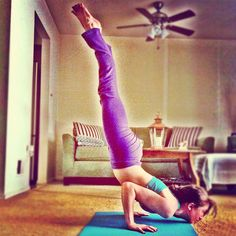 """"""" When I started doing asana, the yoga postures, I had a very strong feeling of many unnecessary things dropping away - especially tension and inadequacy."""