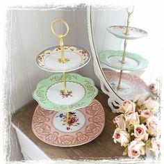 wonderful vintage cakestand - selfmade!