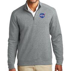NASA Apollo 11 Sweatshirt Man on the Moon Navy Pullover