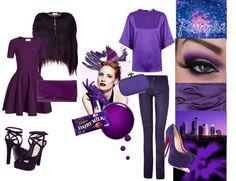 """Purple..."" by kimearls on Polyvore"