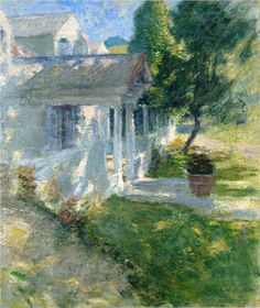 My House - John Henry Twachtman