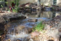 Waterfall created by Tropical Water Gardens in DeLand, FL. #WaterfallWednesday
