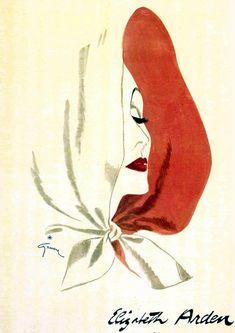 Художник-иллюстратор французской моды Рене Грюо