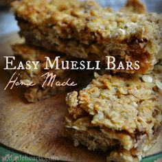Six Little Hearts: How To Make Muesli Bars...