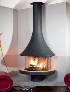 Round About Fireplace