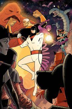 Prévias das títulos mensais da Hanna-Barbera pela DC Comics! - Actions & Comics 2
