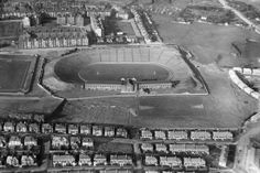 Photo Greeting Card (other products available) - Hampden Park, Glasgow, Scotland - Image supplied by Royal Commission on The Ancient And Historical Monuments Of Scotland - inch Greetings Card made in the UK Scotland Tours, Scotland Travel, Glasgow Scotland, Historical Monuments, Historical Photos, Football Stadiums, Football Team, Football Stuff, Hampden Park