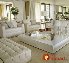 We Home Design — All white living room. Home Living Room, Living Room Designs, Living Room Decor, Living Area, Cozy Living, Simple Living, Modern Living, Living Room Inspiration, Style Inspiration