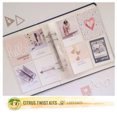 Studio Life W1 project life by Hellotodaycreate for Citrus Twist Kits