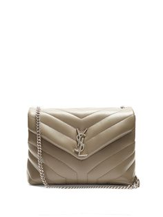 Click here to buy Saint Laurent Monogram small quilted-leather cross-body bag at MATCHESFASHION.COM
