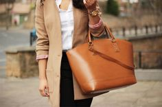 Love the classic look and love the bag!