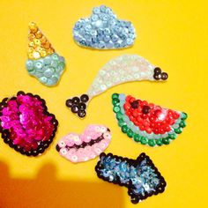 hard to stop #sewing #sequin