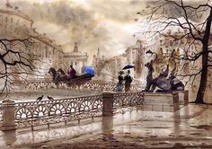St. Petersburg Ii Print By Svetlana And Sabir Gadghievs