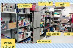 des zones toujours des zones ! Lockers, Cave, Locker Storage, Garage, Cabinet, Furniture, Home Decor, Recycling, Organization