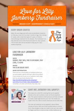 Love for Lilly Jamberry Fundraiser