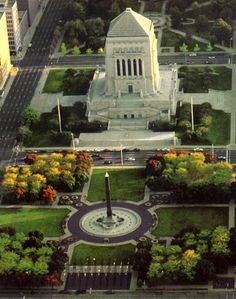 the historic district in downtown indy. beautiful monuments and parks!