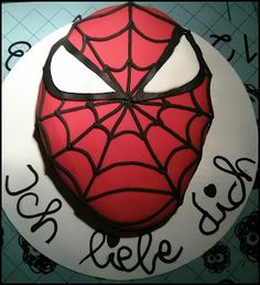 ber ideen zu spiderman torte auf pinterest torte. Black Bedroom Furniture Sets. Home Design Ideas