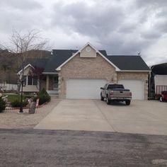Black Shutters And Garage Door Houses With Black Garage