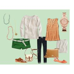 love this combination of colors and accessories