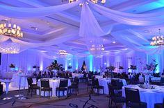 Wedding Reception Decor at The Book Cadillac