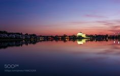 Popular on 500px : The Jefferson Memorial by geoffliving