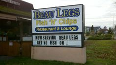 Thank you Play Pen and Beau Legs Fish N Chips!! MMM great food