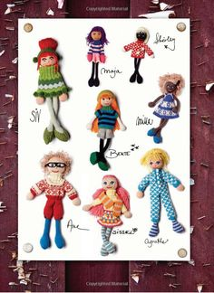 Knitted doll from Norway Knitting Dolls Free Patterns, Knitted Dolls Free, Crochet Toys, Knit Crochet, Arne And Carlos, Operation Christmas Child, Knitting Books, Doll Toys, Baby Toys