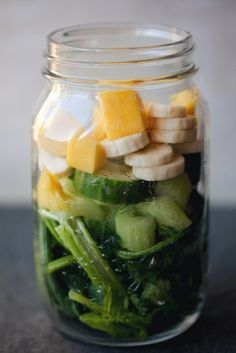 Green Smoothie Ingredients   Living The Healthy Choice