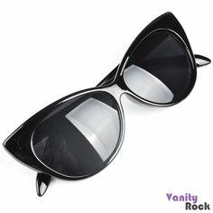 Óculos Gatinho Preto Compre Online: www.vanityrock.com.br