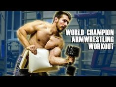 First hard ARM WRESTLING TRAINING workout in preparation for The Arm Battle of Sweden at the middle of December This is just one of our training routin. Wrestling Workout, Fitness Tips, Fitness Motivation, Cable Row, Barbell, Workout Videos, Squats, Coaching, Squat