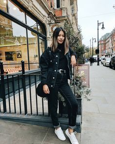 Pinterest | cosmicislander ✧ Casual Fall Outfits, Fall Winter Outfits, Autumn Winter Fashion, Cute Outfits, Black Outfits, Winter Clothes, Winter Wear, Looks Style, My Style