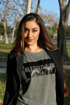 Blessed I Am is a quote that many can relate to. Reading the Sermon on the Mount, where the entire Beatitudes Clothing Wear line derived from, we realize just how blessed we really are. No matter your circumstance, there's always a blessing in the storm. Matthew 5:3 states, God blesses those people who depend only on him.