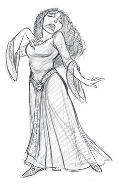 "Mother Gothel in ""Tangled"" Jin Kim Cartoon Sketches, Disney Sketches, Disney Drawings, Cartoon Art, Fantasy Character, Kid Character, Character Drawing, Disney Art Style, Art Disney"